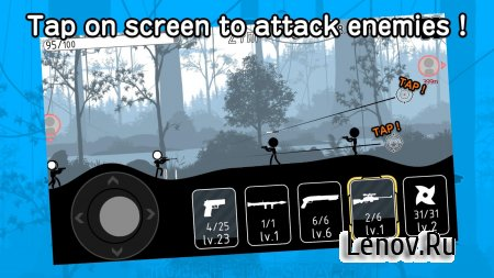 Stickman Striker v 4.0.3 Мод (Free Upgrade)