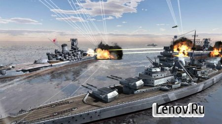 World Warships Combat (обновлено v 1.0.13) (Mod Money)