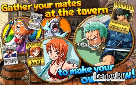 One Piece Treasure Cruise v 10.0.1 Mod (God Mode/Infinite Cards Space)