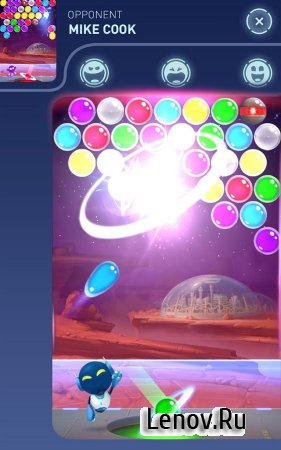Mars Pop - Bubble Shooter (обновлено v 1.4.0.1098) Мод (Unlimited Lives/Gems)
