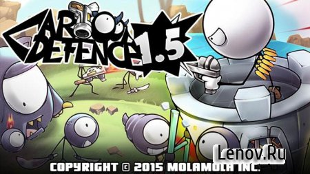 Cartoon Defense 1.5 v 1.4.4 Мод (много денег)