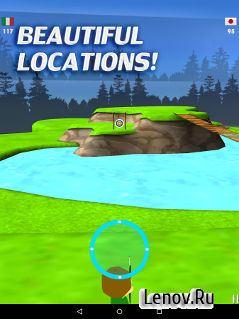 Archery Masters 3D v 1.21 Мод (Unlimited Coins/Removed Ads)