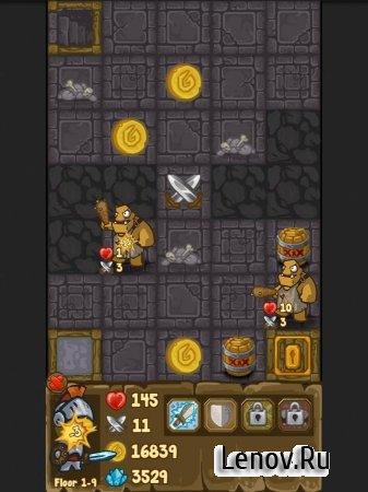 Dungeon Loot - dungeon crawler (обновлено v 2.85) (Mod Money/Gems/Lives)