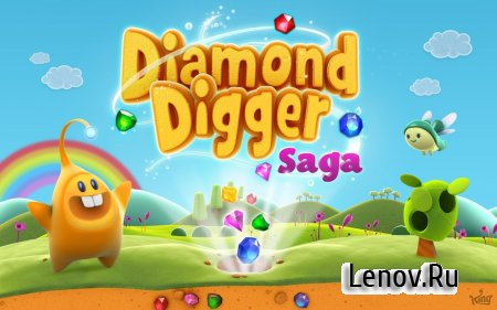 Diamond Digger Saga v 2.50.0.1 (Mod Lives/Boosters & More)