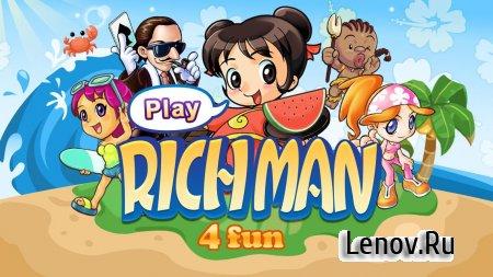 Richman 4 Fun v 3.3 Мод (Ad-Free/Unlocked)