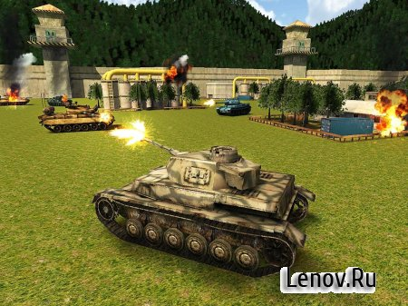 World War Tank Battle 3D v 1.1 (Mod Money)