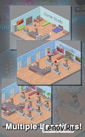 Game Studio Tycoon v 2.1.2 Мод (много денег)
