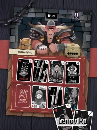 Card Crawl v 2.2.12 Мод (Unlocked)