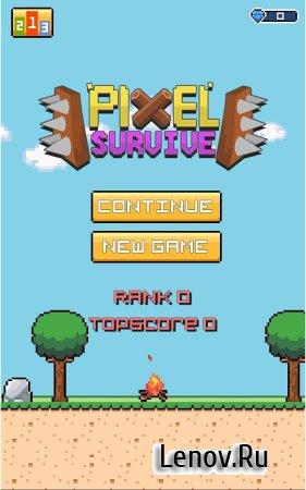 Pixel Survive v 1.545 (Mod Money)