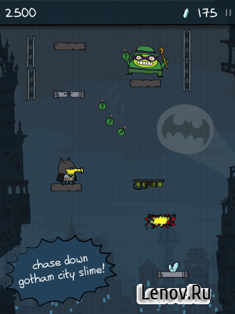 Doodle Jump DC Super Heroes (обновлено v 1.7.0) (Mod Money)