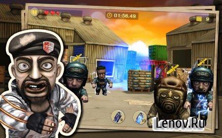 Gun Strike Zombies (обновлено v 1.2.4) (Mod Money)