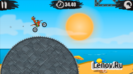Moto X3M Bike Race Game v 1.8.4 Мод (Unlocked)