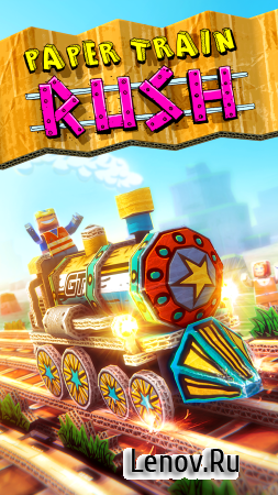 Paper Train: Rush v 1.1 (Mod Money)