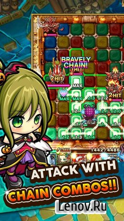 Chain Dungeons v 7.2.0 (God Mode/Massive Attack)