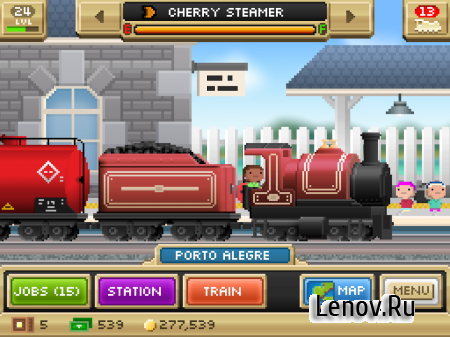 Pocket Trains v 1.2.2 (Mod Money)