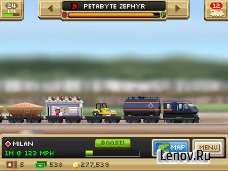Pocket Trains v 1.2.2 (Mod Money)
