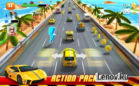 On The Run : Car Racing v 1.3.4 (Mod Gems)