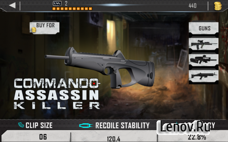 Contract Commando Assassin v 1.1 (Mod Money/Ad-Free)
