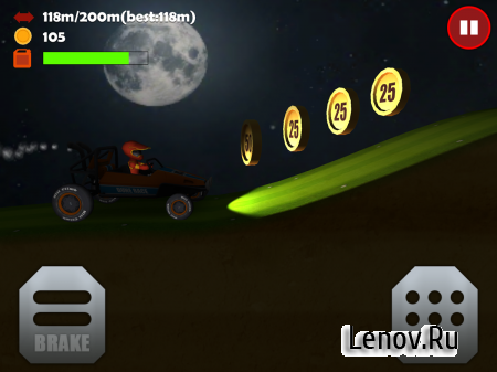 Hill Racing 3D: Uphill Rush v 1.06 (Mod Money/Fuel/Ad-Free)