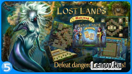 Lost Lands: Mahjong (обновлено v 1.2.3) (Mod Money)