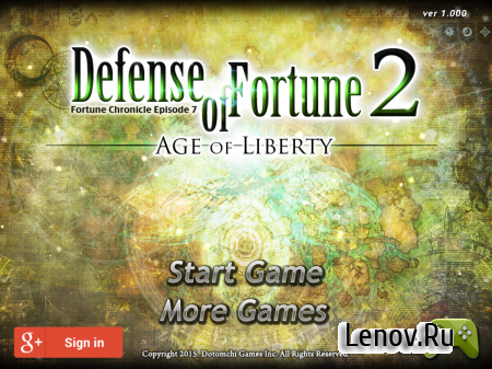 Defense of Fortune 2 v 1.062 Мод (много денег)