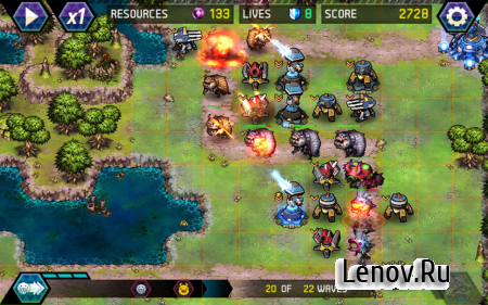 Tower Defense: Infinite War v 1.2.2 Мод (Endless Resources)