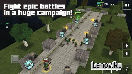 Block Fortress: War v 1.00.07.2 Мод (много денег)