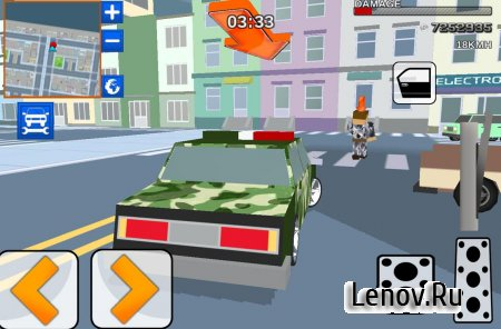 Blocky Army City Rush Racer v 1.1 (Mod Money)