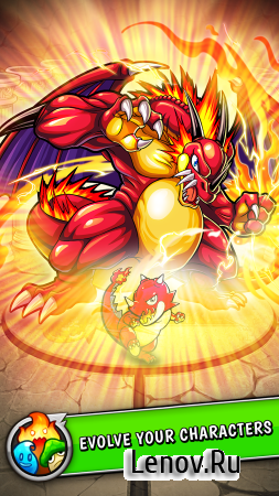 Monster Strike v 14.3.0 Мод (High Damage/Always Player Turn/Greatest Shot)