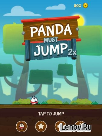 Panda Must Jump Twice v 1.1 Mod (Unlocked)