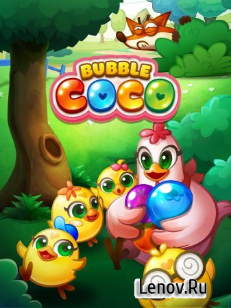 Bubble CoCo v 1.8.1.1 (Mod Money/100 Moves)