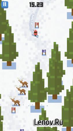 Skiing Yeti Mountain (обновлено v 1.2) Мод (Unlocked)