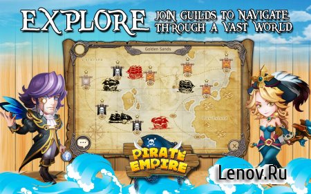 Pirate Empire v 2.2 Мод (1 Hit to Kill/Always Wins)