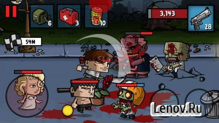 Zombie Age 3 v 1.6.9 Мод (Unlimited Money/Ammo)