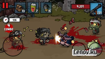 Zombie Age 3 v 1.7.3 Мод (Unlimited Money/Ammo)