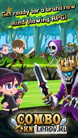 Combo Knights Legend v 1.0.5 (Mod Money)