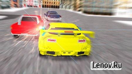 Block City Racing 3D (обновлено v 2.9.130) Мод (много денег)