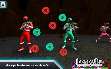 Power Rangers Dino Rumble v 1.02 Мод (Unlocked/High Damage)