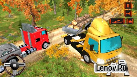 Offroad Hill Drive Cargo Truck v 1.3