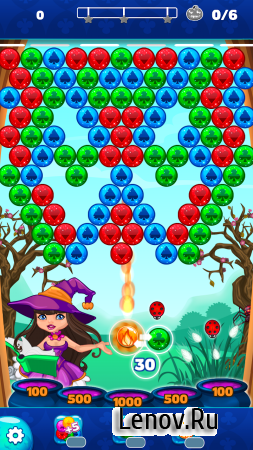 Halloween Town Bubble Shooter v 1.1 (Mod Gold/Lives)