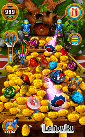 Coin Party: Carnival Pusher (обновлено v 2.6.2) (Mega Mod)