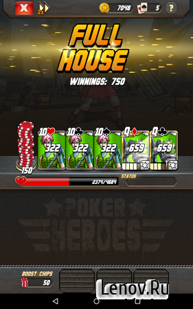 Poker Heroes (обновлено v 2.06) Мод (Cost Deck/Unlocked)