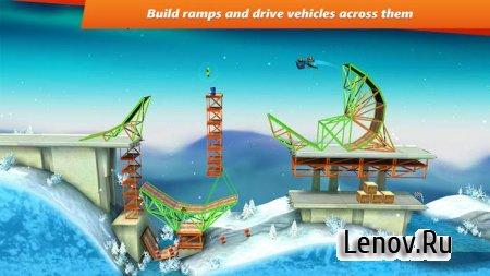 Bridge Constructor Stunts v 3.0 Мод (много денег)