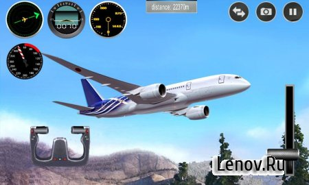 Plane Simulator 3D (обновлено v 1.0.4) Мод (Unlimitted Coins & More)