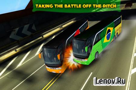 Soccer Team Bus Battle Brazil v 1.2.1 (Mod Money)