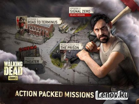 The Walking Dead No Mans Land v 3.2.1.17 Mod (High Damage)