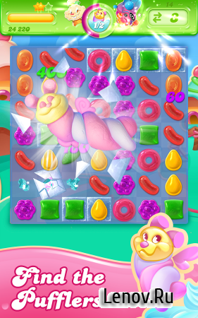 Candy Crush Jelly Saga v 2.18.5 Мод (Unlimited Lives & More)
