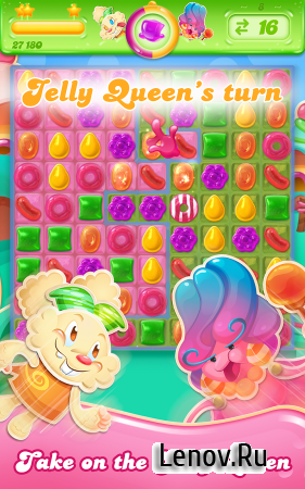 Candy Crush Jelly Saga v 2.29.14 Мод (Unlimited Lives & More)