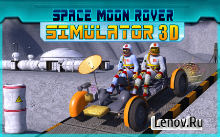 Space Moon Rover Simulator 3D v 1.1 (Mod Money)