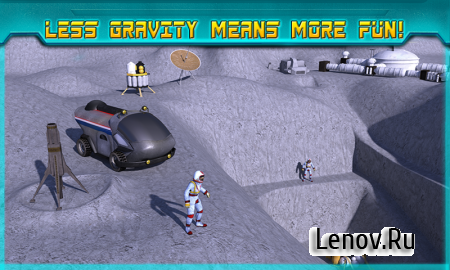 Space Moon Rover Simulator 3D v 1.1 (Mod Money)
